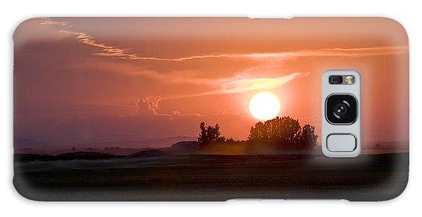Idaho Sunset Galaxy Case