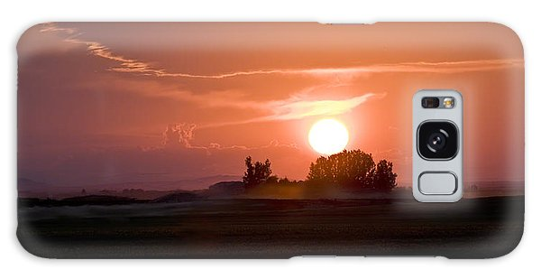 Idaho Sunset Galaxy Case