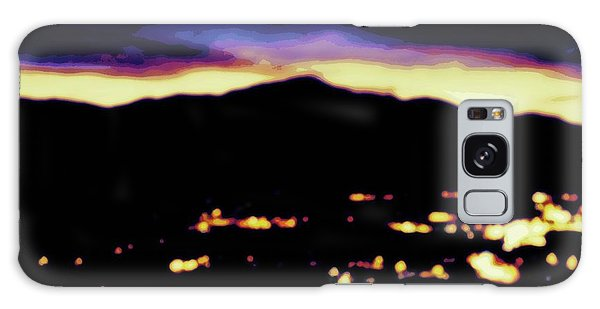 Impressionistic Pikes Peak Galaxy Case by Clarice  Lakota
