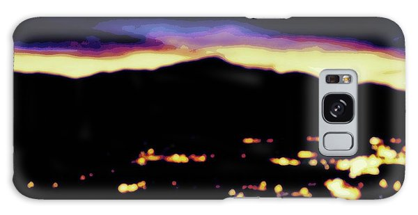 Impressionistic Pikes Peak Galaxy Case by Clarice  Lakota