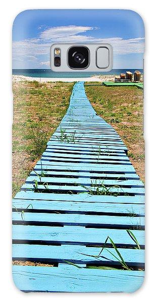 Board Walk Galaxy Case - Improvised Boardwalk by Meirion Matthias