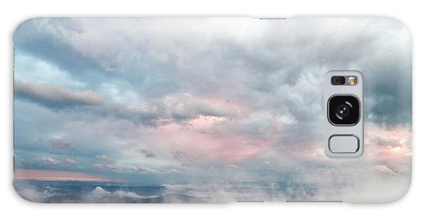 In The Clouds Galaxy Case by Jeannette Hunt