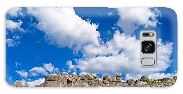 Inca Ruins Galaxy Case by Nicolas Raymond
