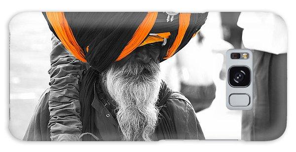 Indian Man Wearing Turban Galaxy Case
