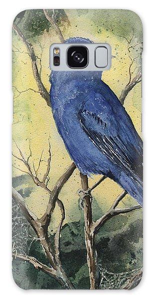 Bluebird Galaxy Case - Indigo Bunting by Sam Sidders