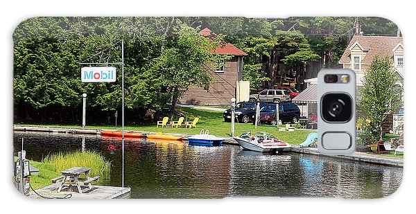 Inlet On Seven Lakes Galaxy Case by Ann Murphy