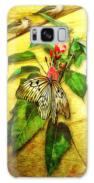 Insect - Butterfly - Sparrow - Happy Summer  Galaxy Case