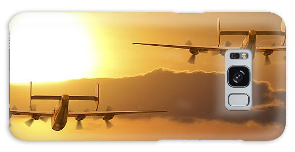 Bomber Galaxy Case - Into The Sun 2 by Mike McGlothlen