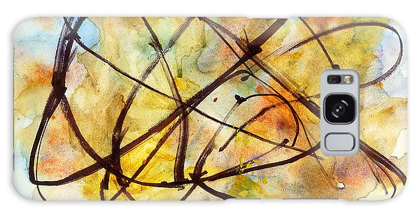 Inverno Abstract Watercolor Galaxy Case