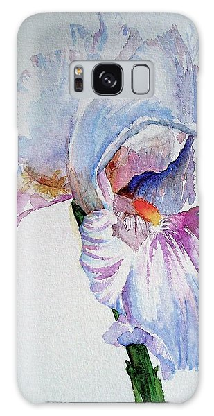 Iris In The Garden Galaxy Case by Sharon Mick
