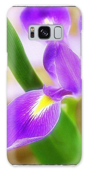 Iris On Pointe Galaxy Case by Judi Bagwell
