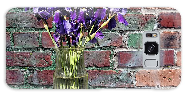 Iris Vase Galaxy Case by Rick Friedle