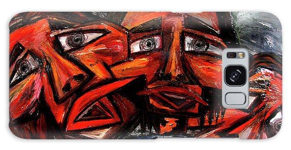 Galaxy Case - Is 3 Really A Crowd by Karen Elzinga