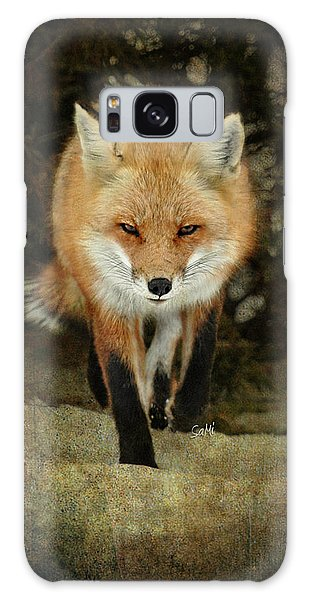 Island Beach Fox Galaxy Case