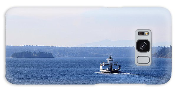 Island Ferry Galaxy Case by Billie-Jo Miller