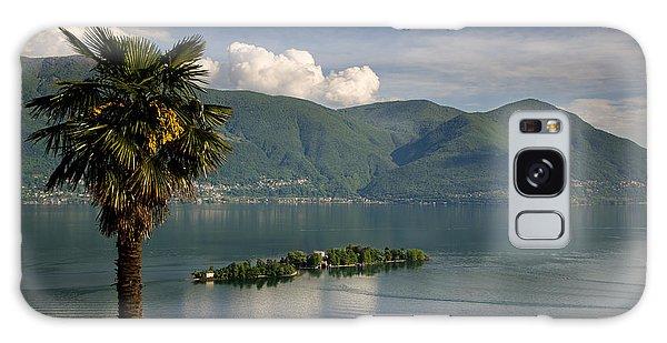 Islands On An Alpine Lake Galaxy Case