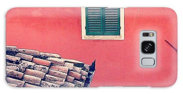 House Galaxy Case - Italian Geometry #house #shutters by A Rey