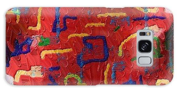 Italian Pillow Galaxy Case by Alec Drake