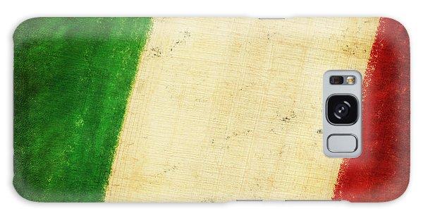 Mottled Galaxy Case - Italy Flag by Setsiri Silapasuwanchai
