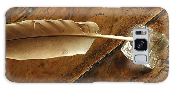 Jane Austen's Pen Galaxy Case