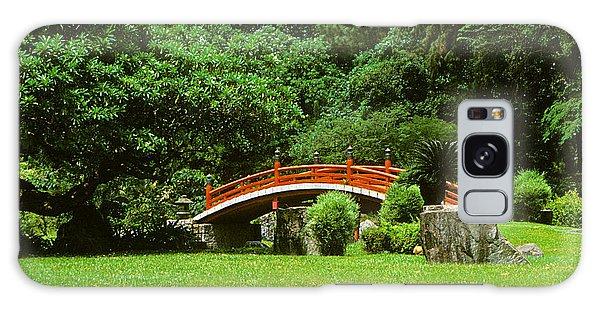 Japanese Garden Bridge 21m Galaxy Case