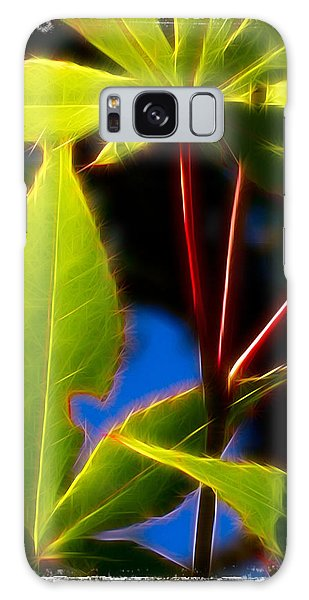 Japanese Maple Leaves Galaxy Case by Judi Bagwell