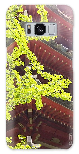 Japanese Tea Garden Galaxy Case by Cindy Garber Iverson