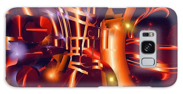 Jazz And Light Galaxy Case by Hai Pham
