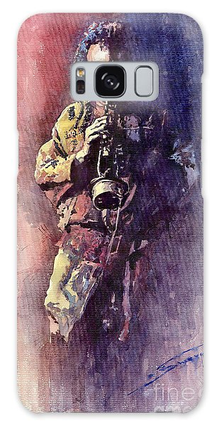Portret Galaxy Case - Jazz Miles Davis Maditation by Yuriy Shevchuk