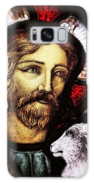 Jesus The Good Shepard Galaxy Case by Verena Matthew