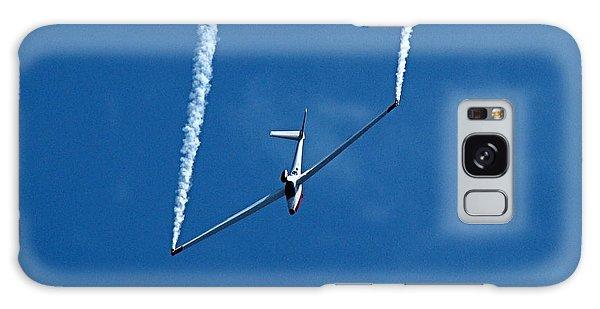 Jet Powered Glider Galaxy Case by Nick Kloepping