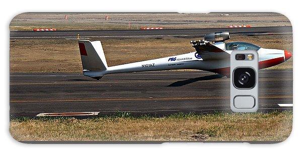 Jet Powered Glider2 Galaxy Case by Nick Kloepping