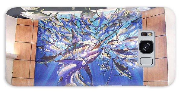 Bahamas Galaxy Case - Jetson Mural by Carey Chen