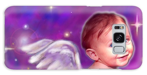 Jewell.angelic 3 Galaxy Case by Nada Meeks