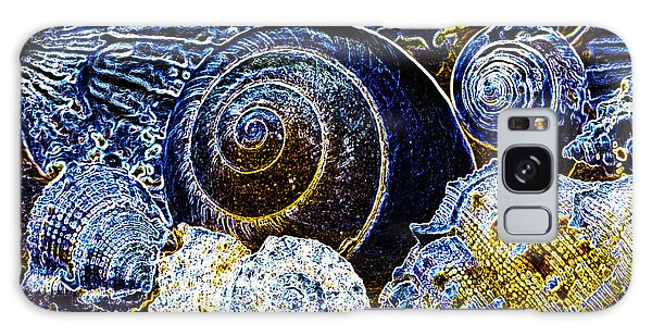 Abstract Seashell Art Galaxy Case