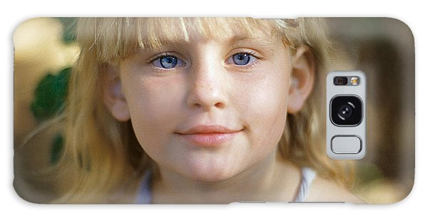Portrait Of A Young Girl Galaxy Case