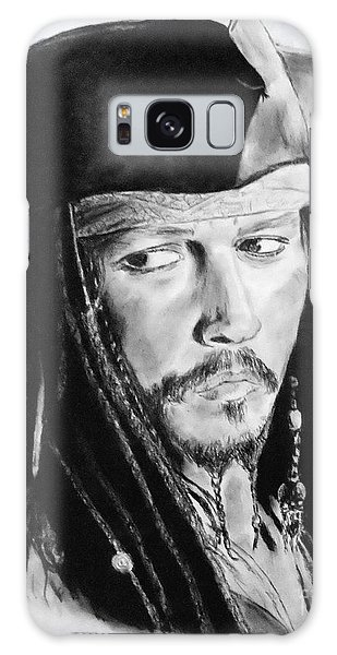 Johnny Depp As Captain Jack Sparrow In Pirates Of The Caribbean II Galaxy Case