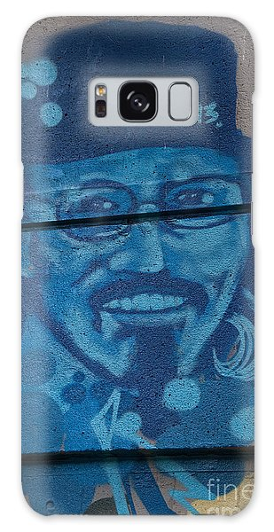 Johnny On The Wall Galaxy Case by Carol Ailles
