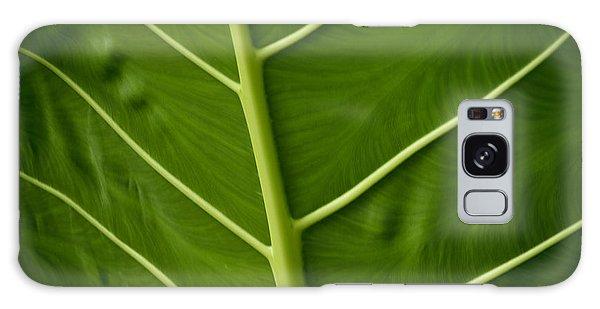Jungle Leaf Galaxy Case
