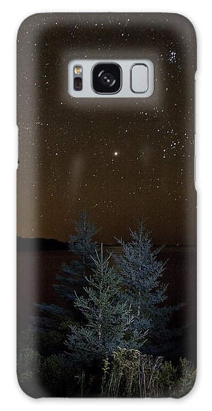 Jupiter  Over Otter Point 2 Galaxy Case by Brent L Ander
