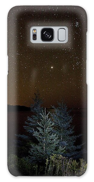 Jupiter  Over Otter Point 3 Galaxy Case by Brent L Ander