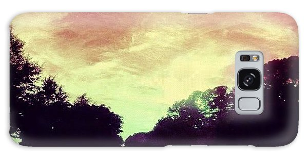 Summer Galaxy Case - #justdriving #colourful #sky #road by Katie Williams