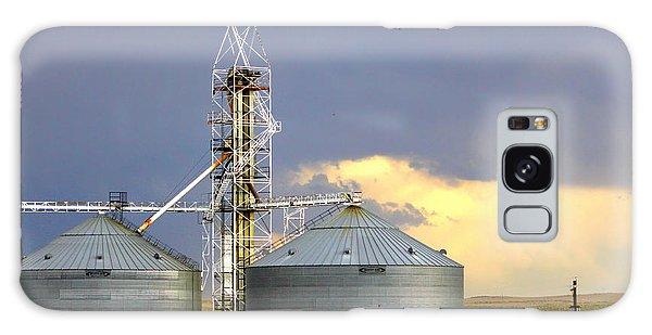 Kansas Farm Galaxy Case by Jeanette C Landstrom