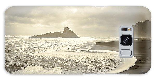 Karekare Beach In New Zealand Galaxy Case