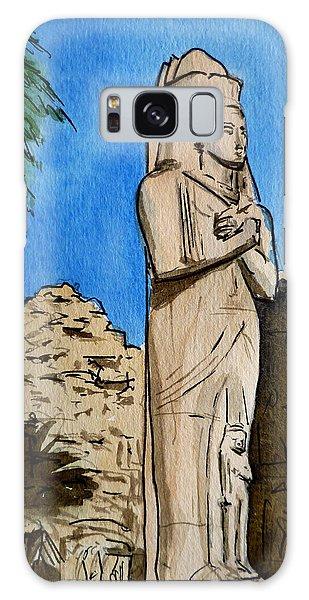 Egypt Galaxy Case - Karnak Temple Egypt by Irina Sztukowski