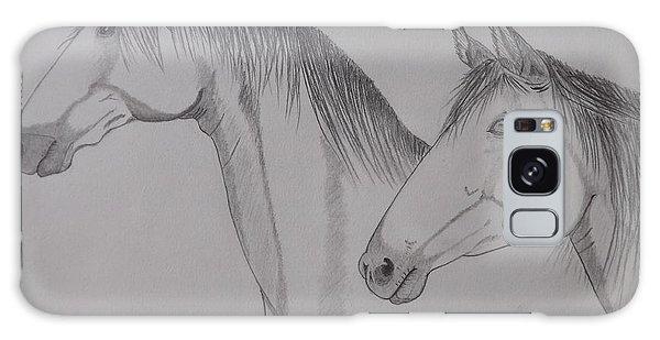 Keiger Mustangs Galaxy Case by Gerald Strine