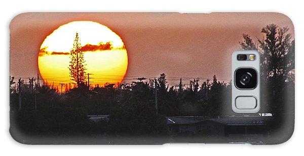 Key West Sunset Galaxy Case