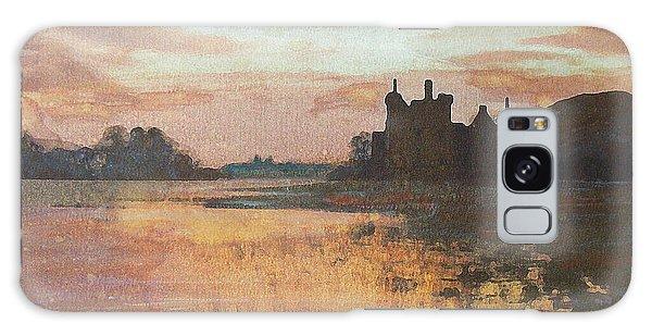 Kilchurn Castle Scotland Galaxy Case