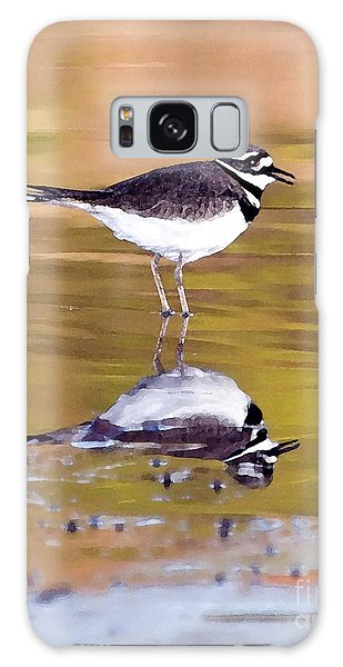 Killdeer Reflection Galaxy Case by Betty LaRue
