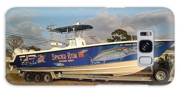 Bahamas Galaxy Case - Kingfish Boat Wrap by Carey Chen